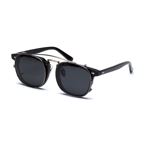 익시온 클립온 선글라스 (블랙)