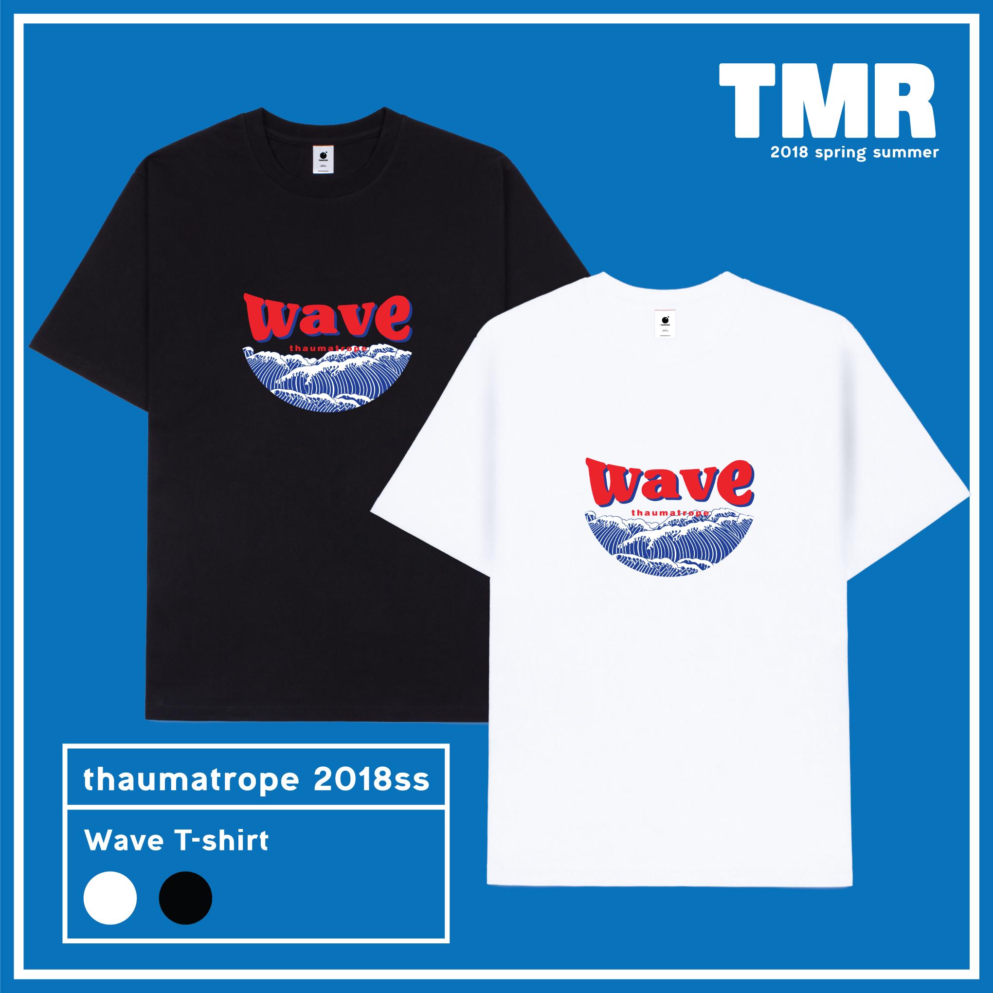 TMR WAVE T-SHIRTS
