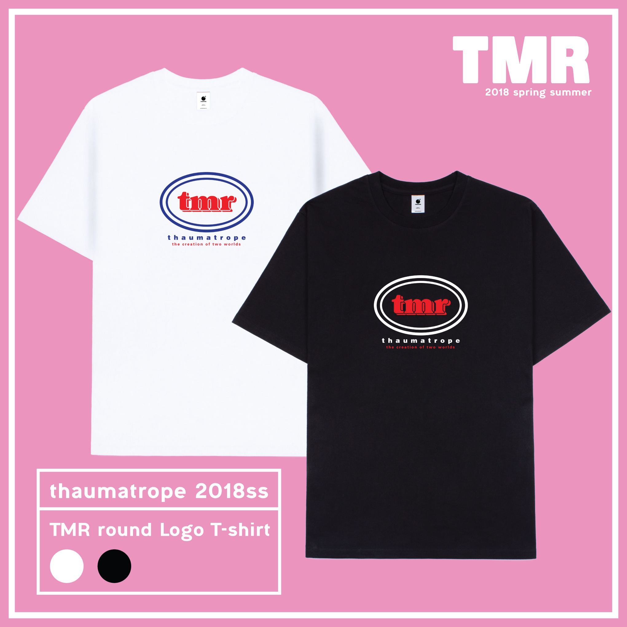 TMR ROUND LOGO T-SHIRTS