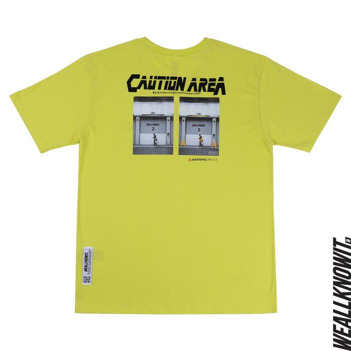 [위올노잇]WEALLKNOWIT 신상 반팔 티셔츠 WS109-라임
