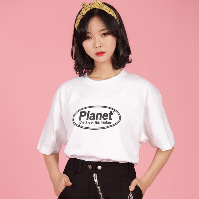 [UNISEX] 에그라운드 반팔티 (화이트)