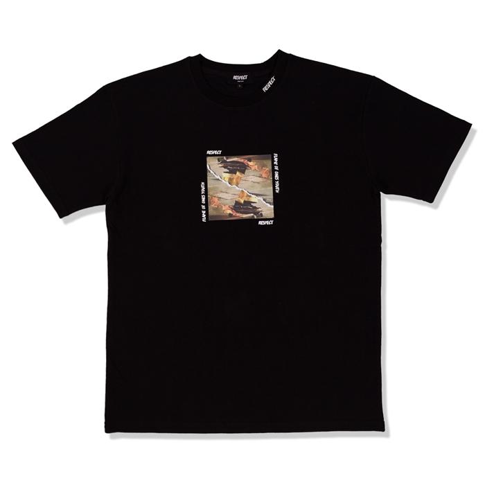 리스펙트 플레임 유스 반팔 티셔츠