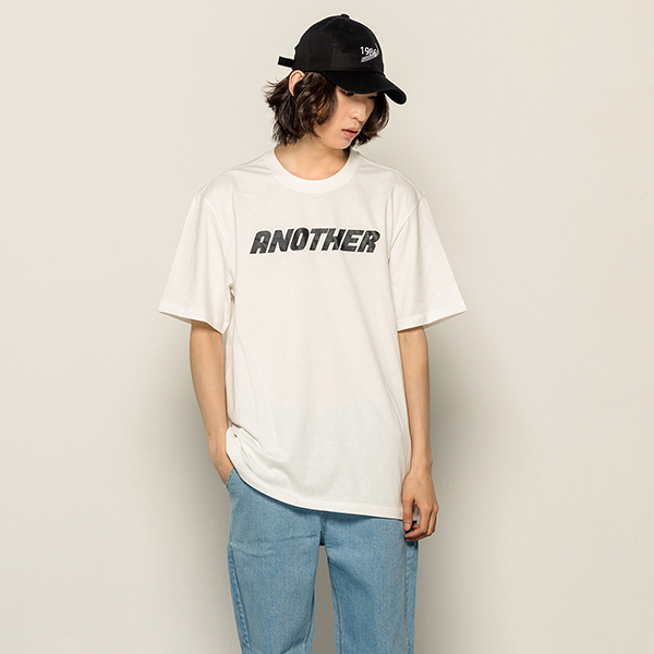 [B1A4산들착용][173]ANOTHER SHORT SLEEVE(IVORY)