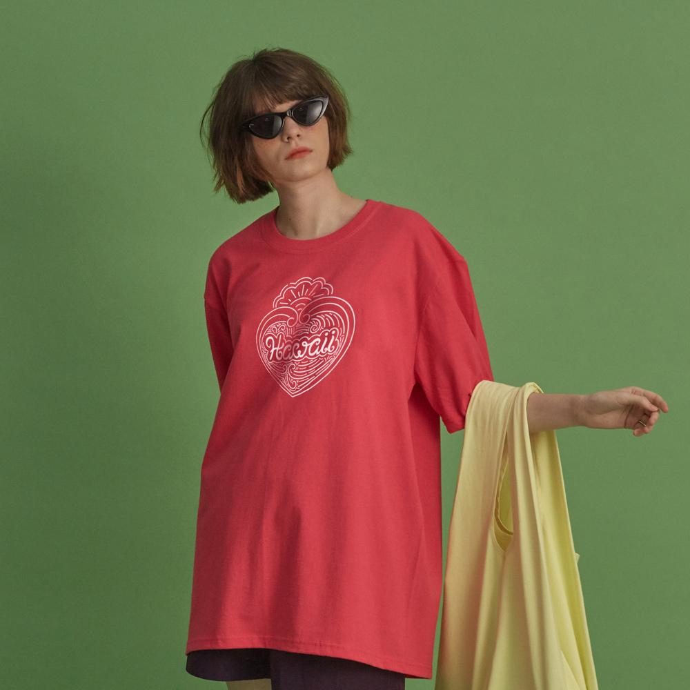 NBS028 하와이 반팔 - 핑크