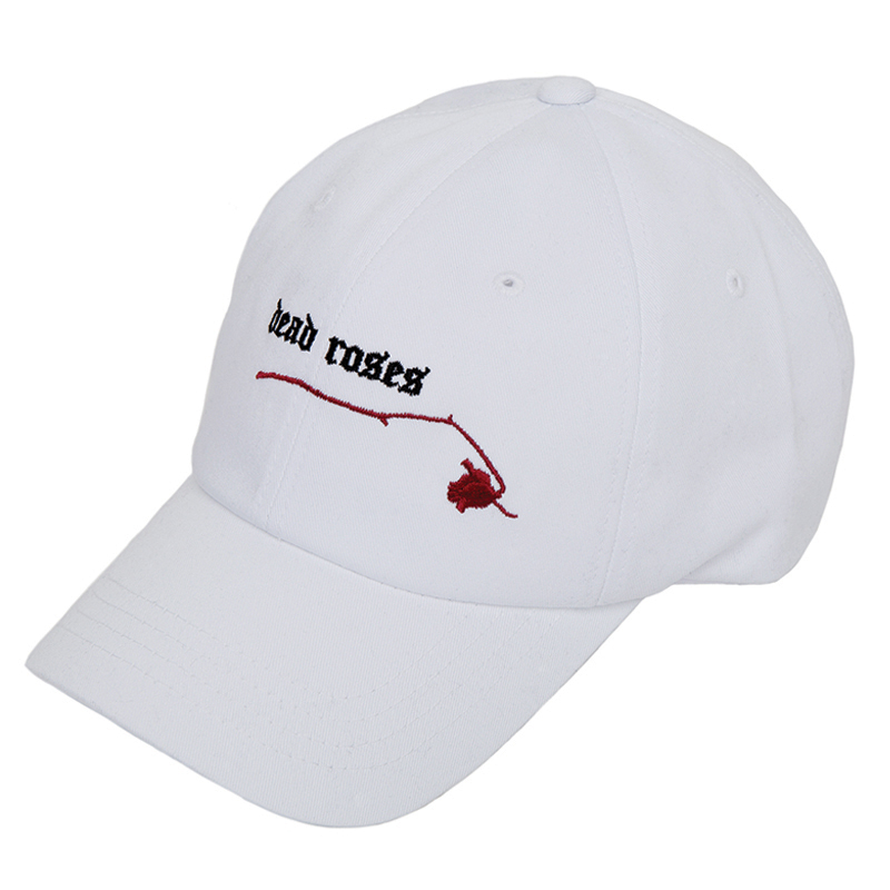 DEAD ROSE SOFT CAP WHITE