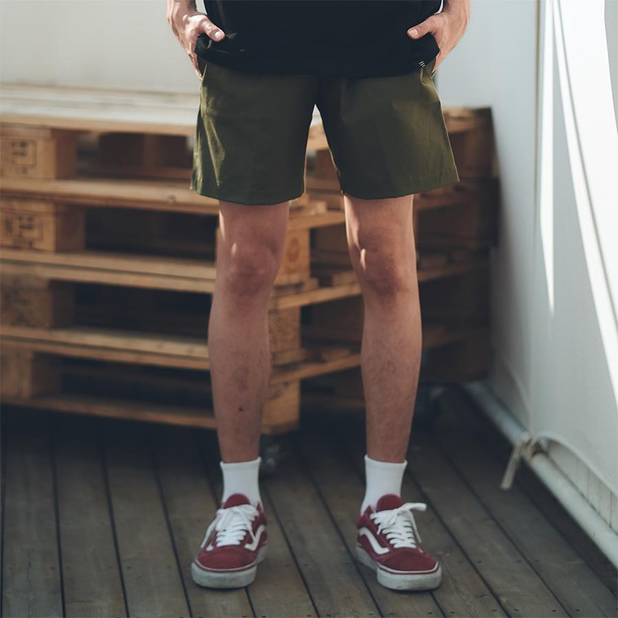 Twill Short Pants(Green)