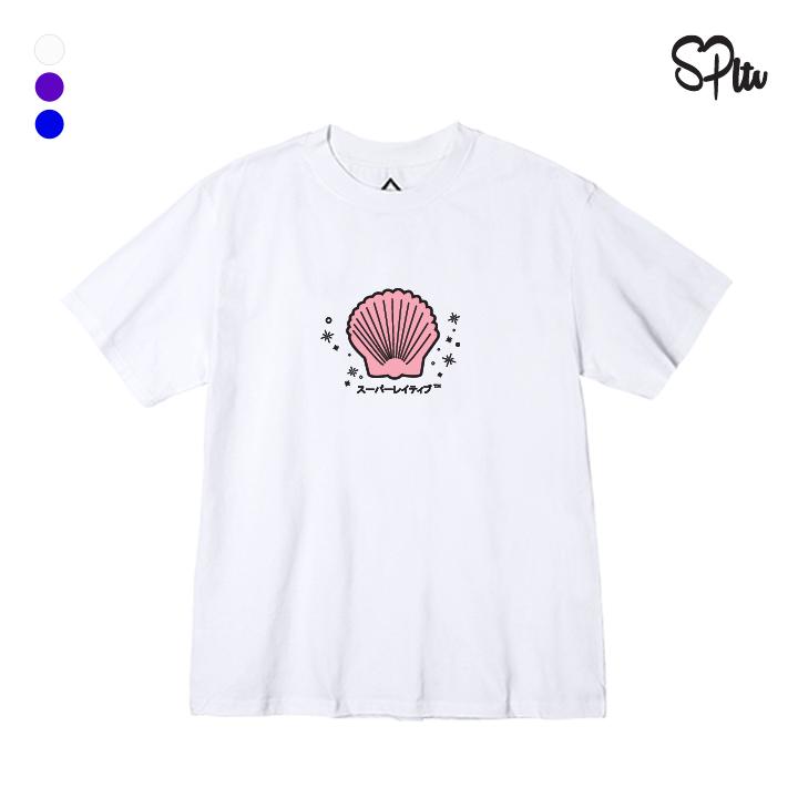 [한정수량] [크루비단독]슈퍼레이티브 - SHELL 반팔티 - 나염반팔