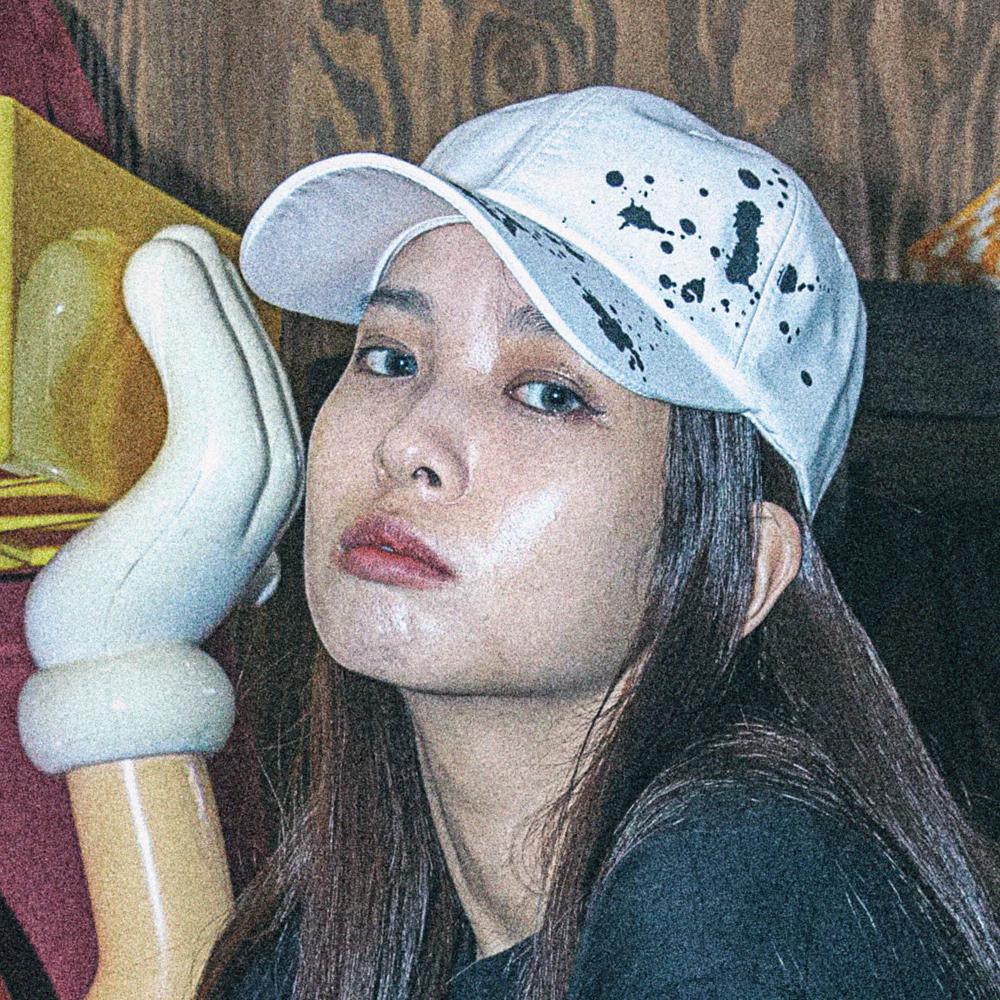 [아케이드코드] INK BOMB BALLCAP (WHITE) 볼캡 야구모자 모자