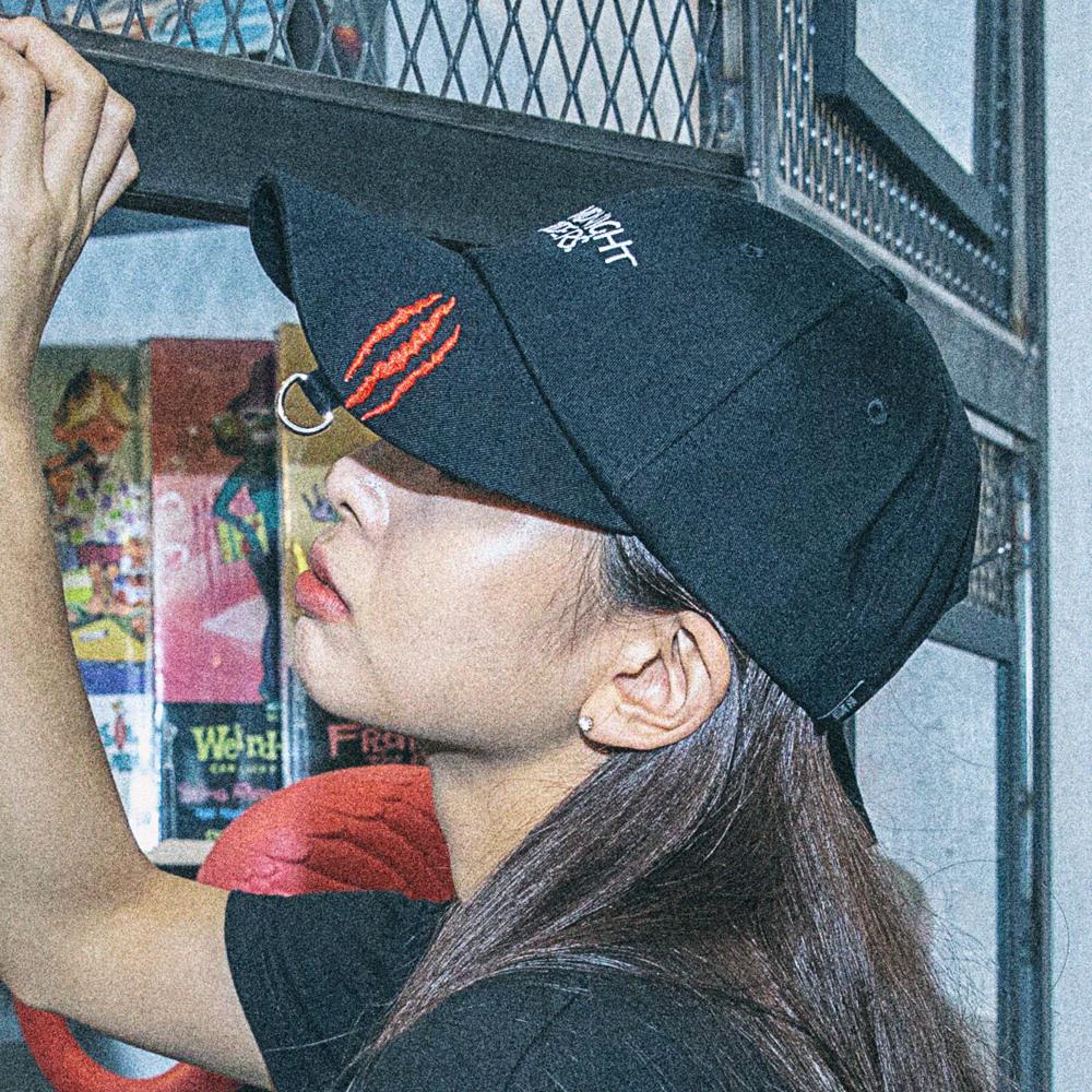 [아케이드코드] MIDNIGHT RIDERS BALLCAP (BLACK) 볼캡 야구모자 모자