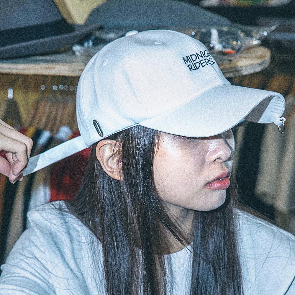 [아케이드코드] MIDNIGHT RIDERS BALLCAP (WHITE) 볼캡 야구모자 모자