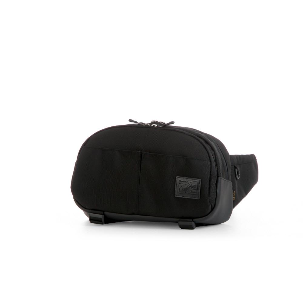 [카고브로스]CARGOBROS - MPT WAIST BAG (BLACK) 가방 힙색 웨이스트백