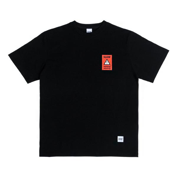 슬로우 포인트 티셔츠 (블랙)