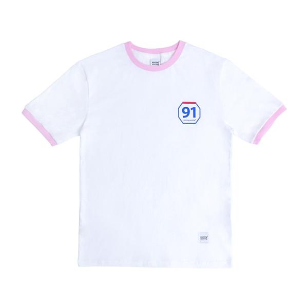 91 로드 링거 티셔츠 (핑크)