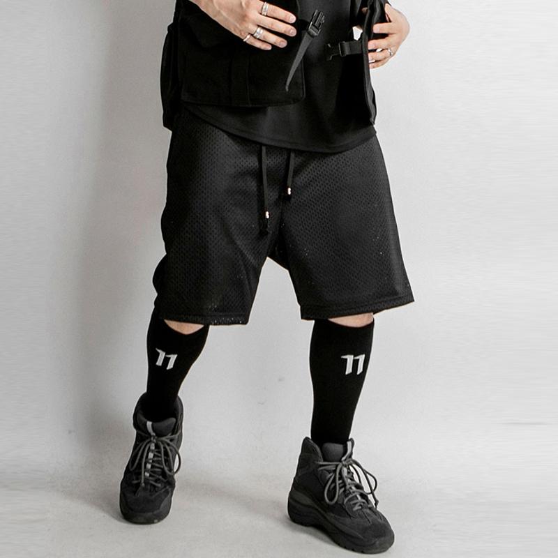[단독할인]오메르타  Baseball Set Mesh Shorts Black
