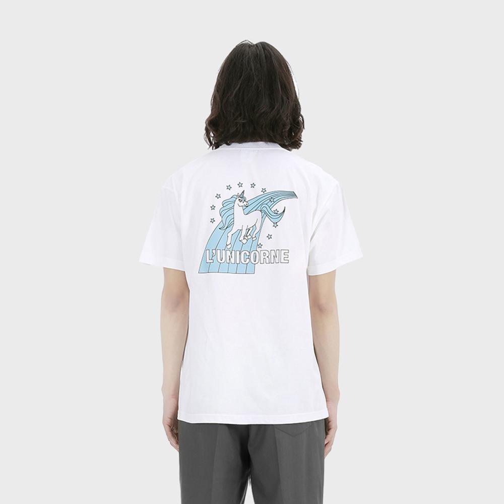 유니콘 티셔츠 [화이트]