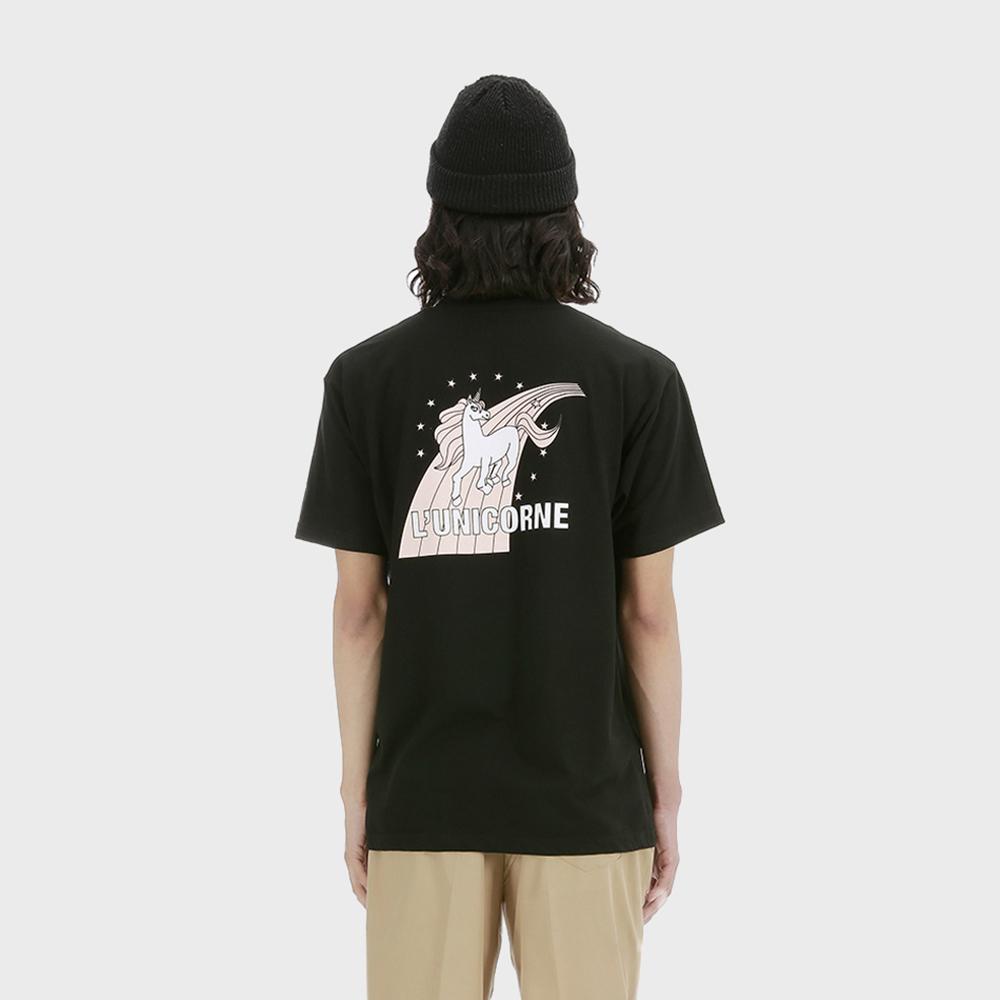 유니콘 티셔츠 [블랙]