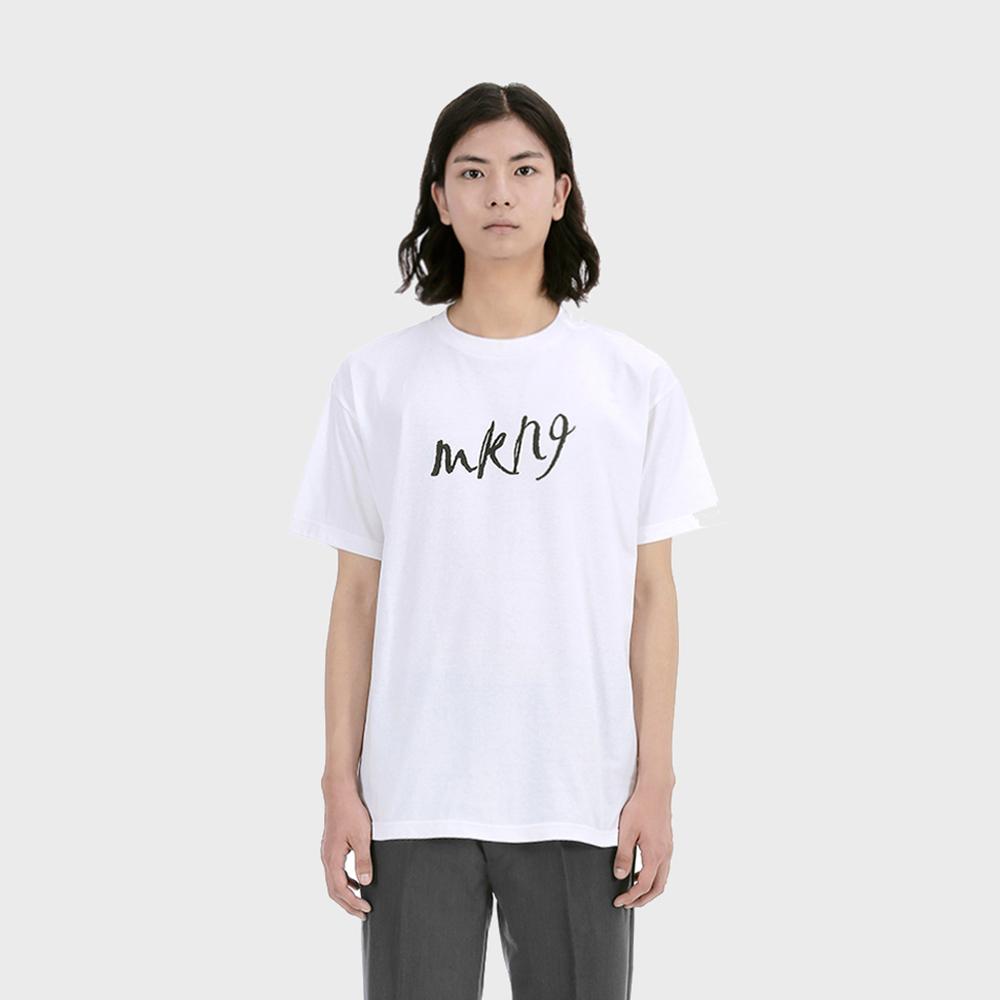 로고 티셔츠 [화이트]