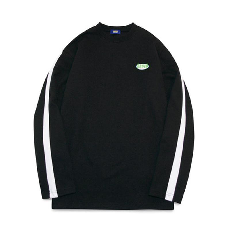 오더플리즈 그래픽 오더 02 블랙_티셔츠