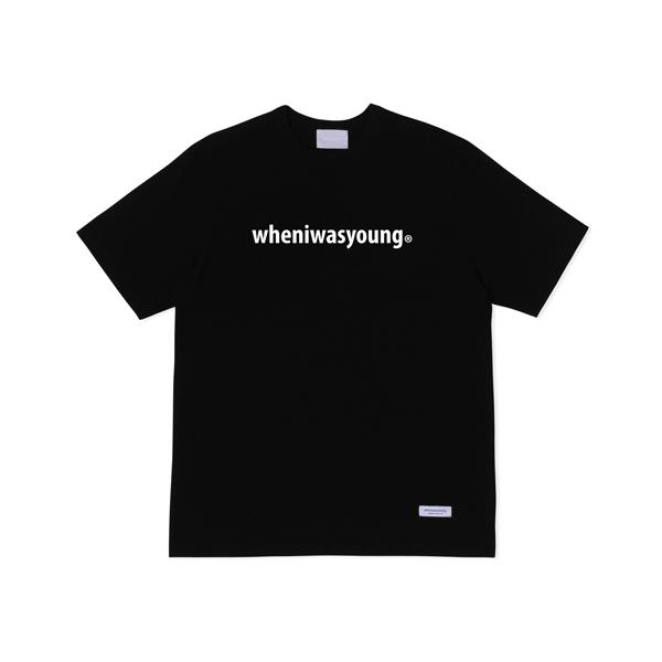 시그니처 로고 티셔츠 (블랙)