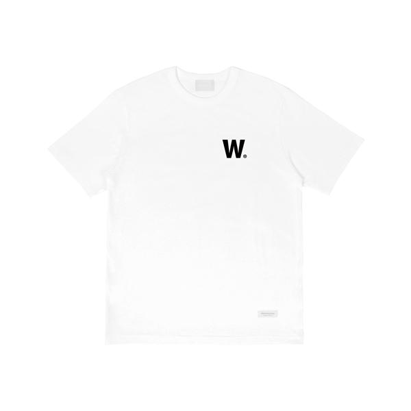 W 로고 티셔츠 (화이트)