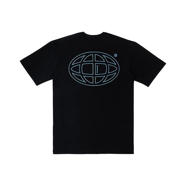 플래닛 그래픽 티셔츠 (블랙)