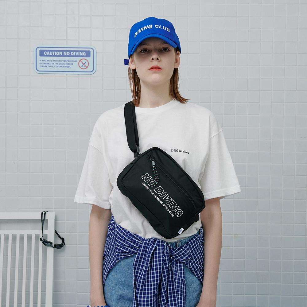 [로너] No diving tshirt-white
