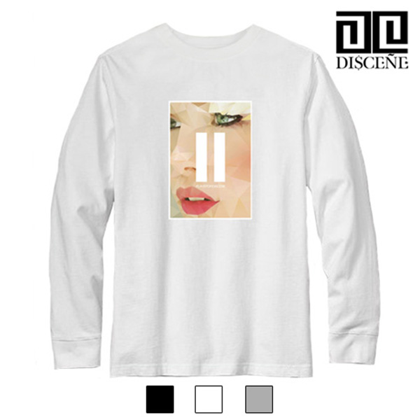 [DISCENE]디씬 SPOP FACE 소프트긴팔 티셔츠 - 3color-(B-6B)