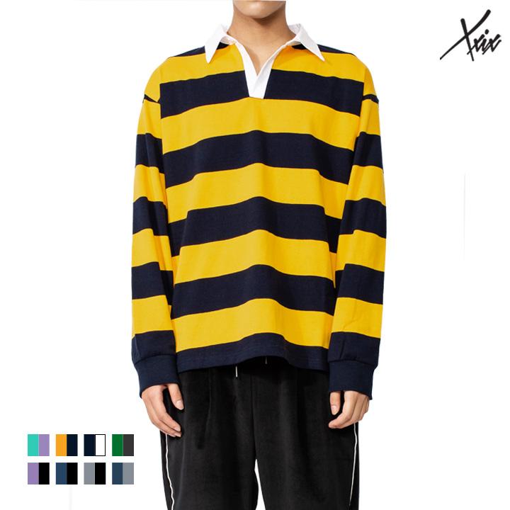 [A_17] XXIX - STRIPE 카라 티셔츠- 8color