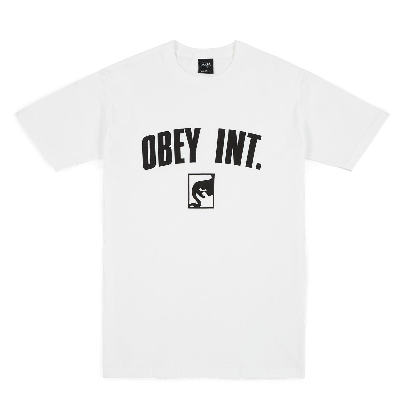 [OBEY] 오베이반팔 OBEY INT. 165361789 WHITE