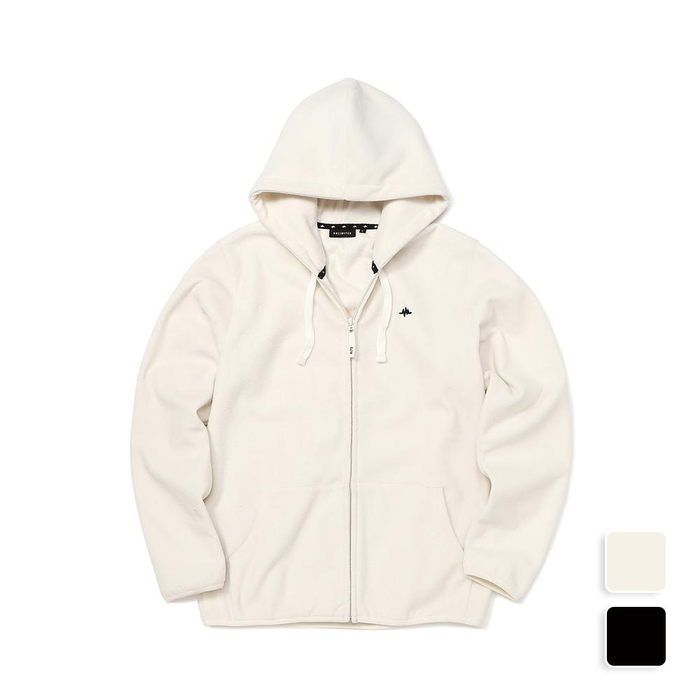 Fleece Hood Zip-Up (U18DTJK31)
