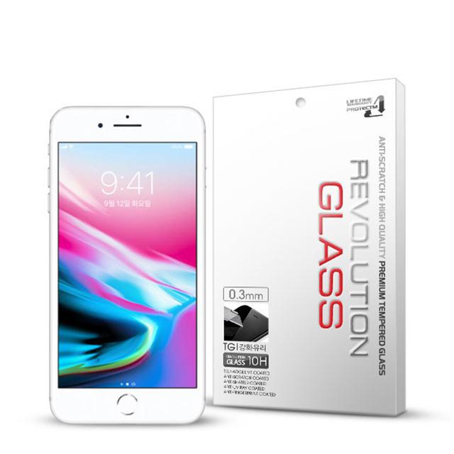(2장)레볼루션글라스 3D풀커버 아이폰8플러스