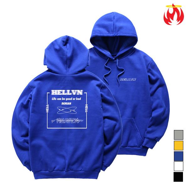 Demian Hellvn Hoody Shirts - 후드티 <SBHH8S-016>