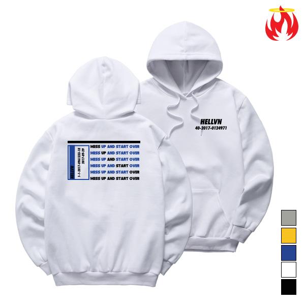 0124971 Hellvn Hoody Shirts - H8S-020 - 후드티