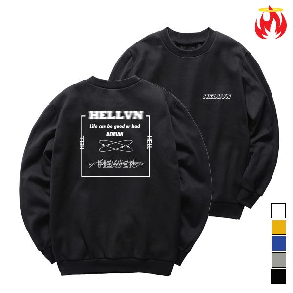 [단독할인]Demian Hellvn Sweatshirts - 맨투맨 (SBMH8S-016)