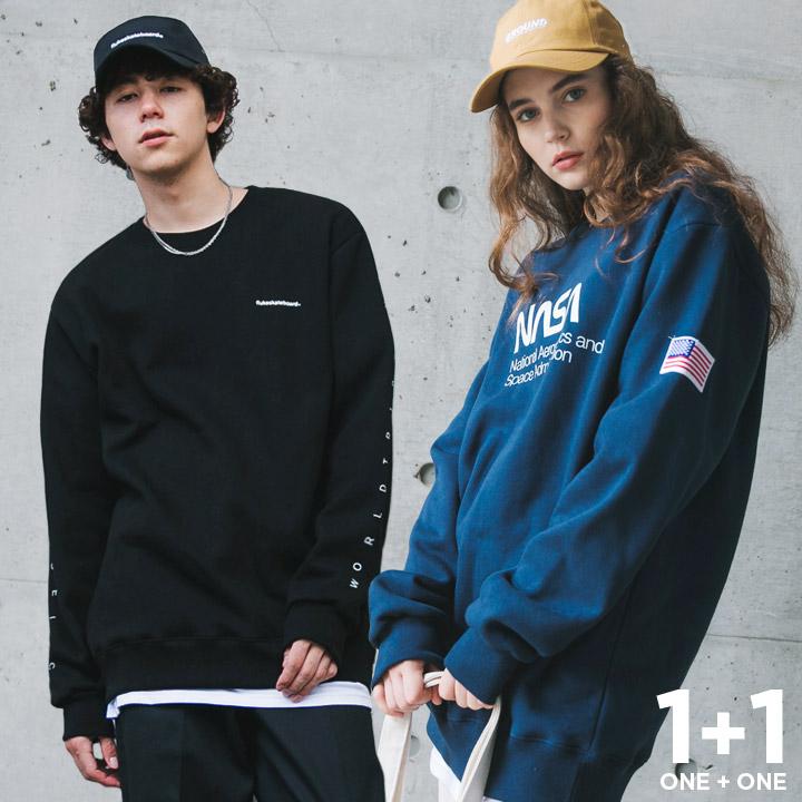 [1+1] 플루크 신상 Best 아트웍 맨투맨 티셔츠 3종 SET 1+1