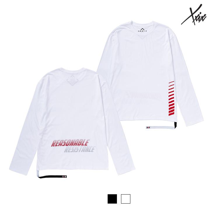 XXIX - REFLECTIVE 롱 슬리브 티셔츠 - 2color