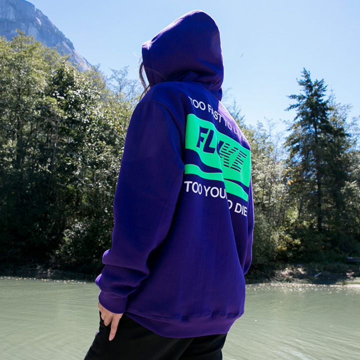 플루크 트라이얼 후드티셔츠 FHT018N207