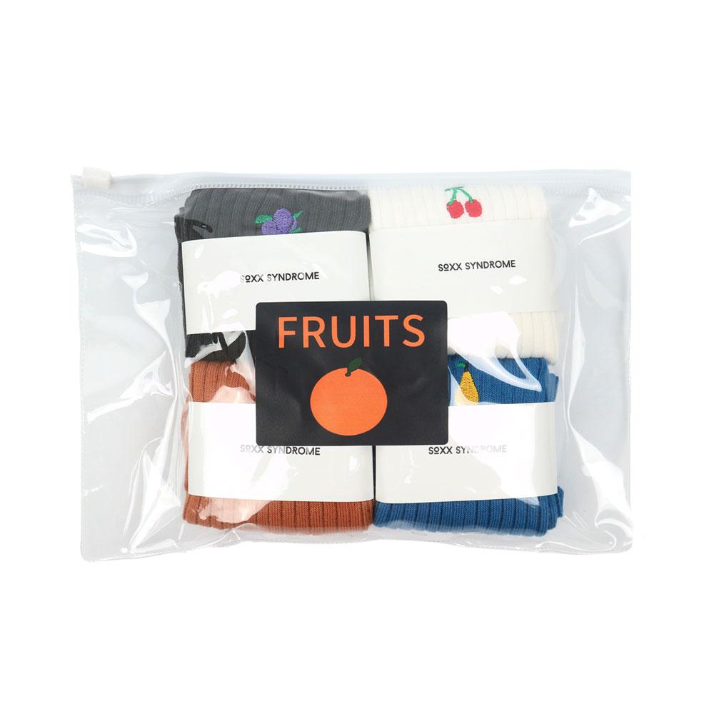 [4켤레] FRUITS SET