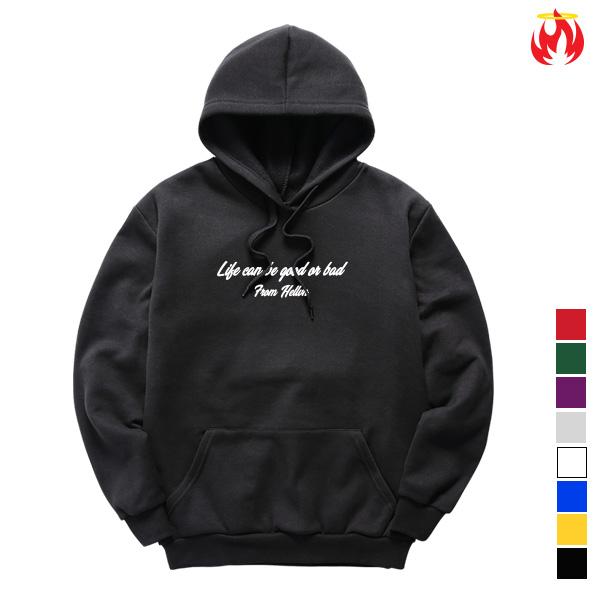 Good or Bad Hellvn Hoody Shirts - H8S-011 - 후드티