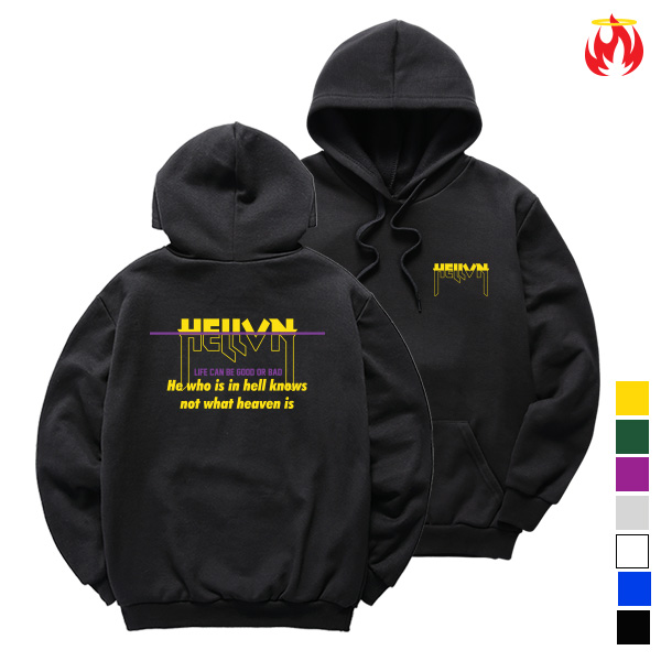 [한정수량] Hell Not Know Hellvn Hoody Shirts - H8S-017 - 후드티