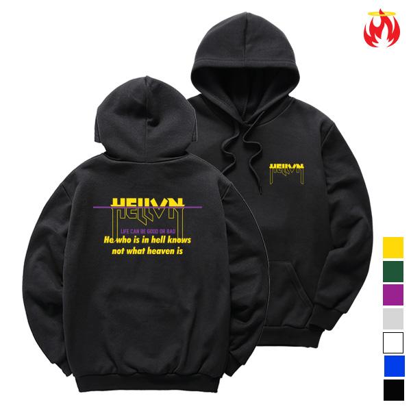 Hell Not Know Hellvn Hoody Shirts - 후드티 (SBHH8S-017)