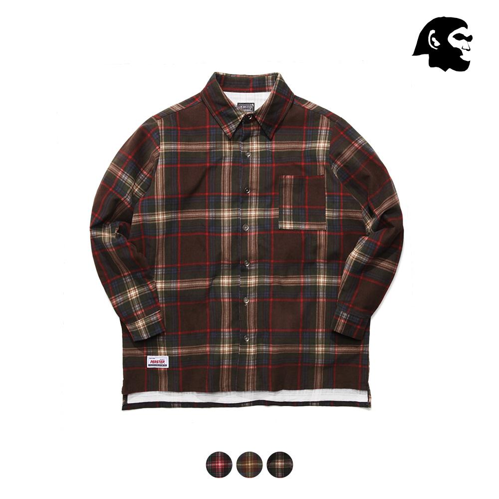 [퍼스텝] 테크 루즈핏 셔츠 3종 SMLS4191