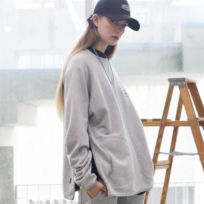 [Unisex]INCISION LOGO MTM (gray)