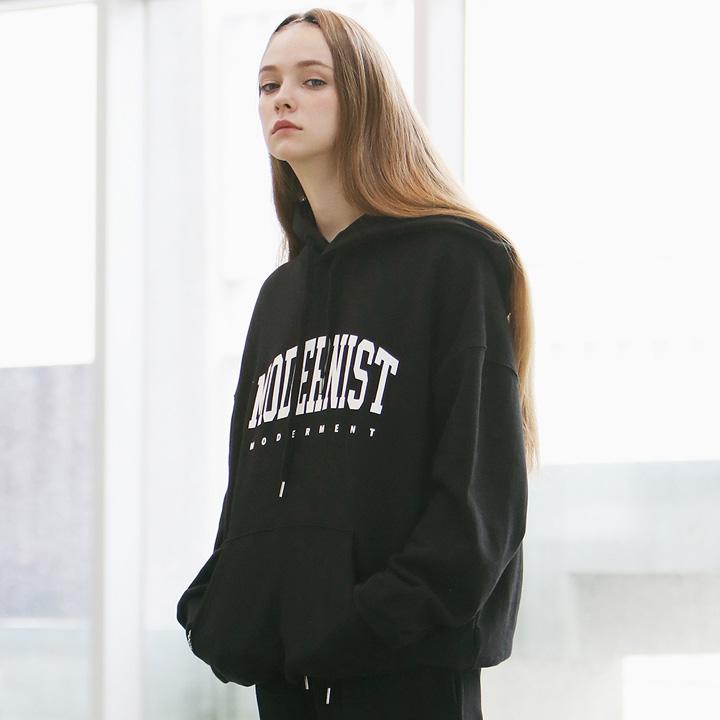 [Unisex]MODERNIST HOODIE(black)