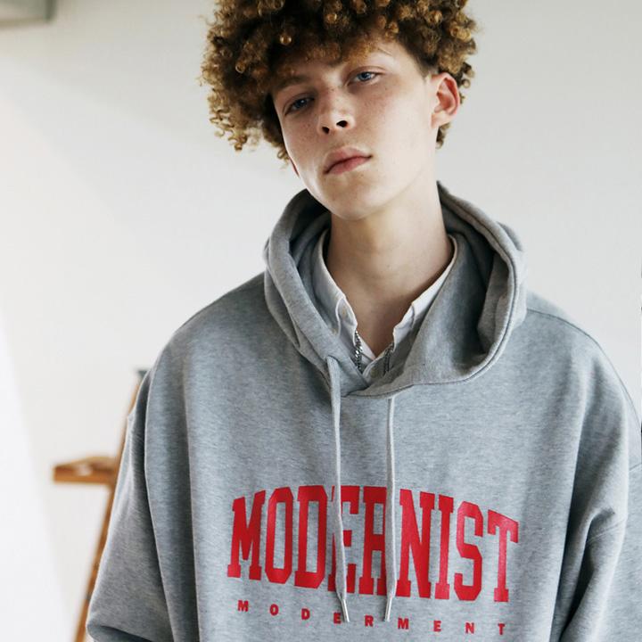[Unisex]MODERNIST HOODIE(gray)