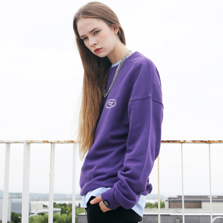 [Unisex]HANDWRITING MTM(purple)