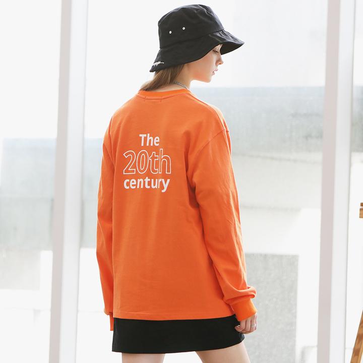 [Unisex] COUNTRY BANDING T-SHIRTS(orange)