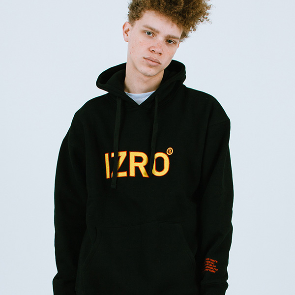 IZRO REFLECT HOODY - BLACK