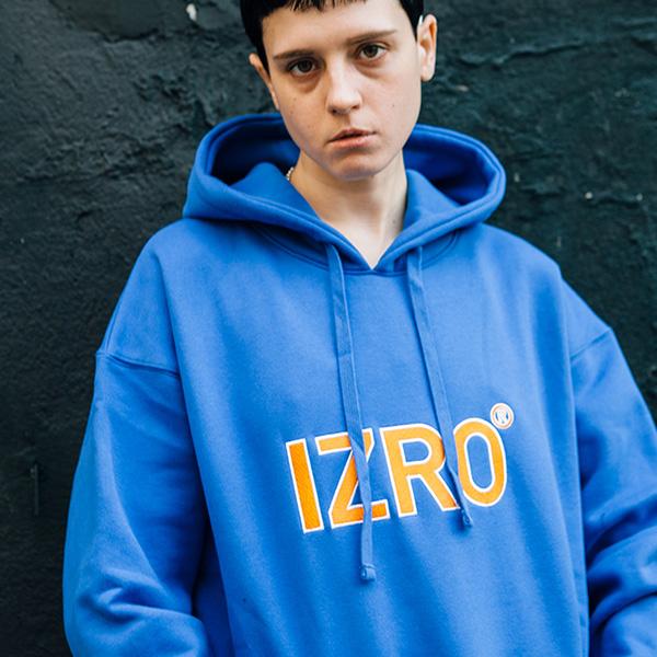 IZRO REFLECT HOODY - BLUE