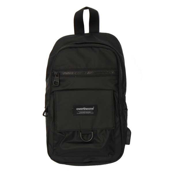 [207]SUBWAY SLING BAG(BLACK)